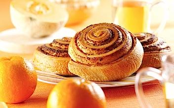 food_scones_pastry_sweets_breakfast_orange_1920x1200